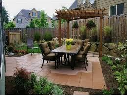Fence Ideas For Small Backyard by Backyards Ergonomic Backyard Landscaping Idea Backyard