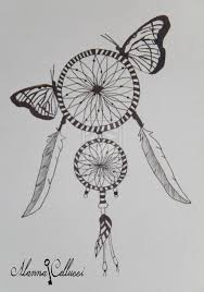 gallery pencil drawings of dream catcher drawing art gallery