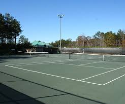 lighted tennis courts near me rock springs park