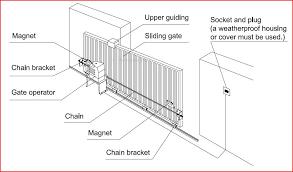 sliding gate opener ac1300 solar kit 30w aleko
