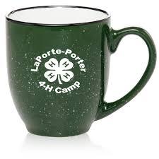 custom 16 oz two tone speckled bistro mugs 5002 discountmugs