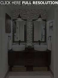 Bathroom Sconce Height Double Framed Bathroom Mirrors With Sconces Stylish Framed Houzz