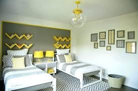 deco chambre grise deco jaune gris deco jaune gris deco graphique noir jaune deco jaune