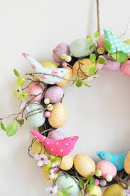 easter wreath 17 diy easter wreath ideas how to make a easter door wreath