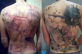 Back Pieces Tattoos Jesus Back Stages Tattoos Book 65 000 Tattoos Designs