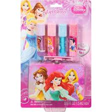 disney princess lip gloss bonus tin 5 pc beauty