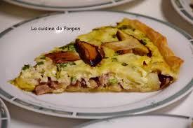 jeu de cuisine facile tarte aux poireaux et chignons des bois la cuisine de ponpon