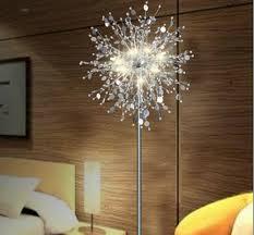 popular flower floor lamp buy cheap flower floor lamp lots from crystal living room stand floor lamp modern flower floor light for bedroom foyer nordic american style