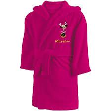 robe de chambre disney adulte peignoir personnalisé enfant minnie mouse disney