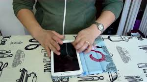 how to make a tablet cover youtube