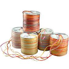 colored raffia raffia multi the ribbon curl decorative ribbon