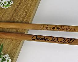 engraved chopsticks engraved chopsticks etsy