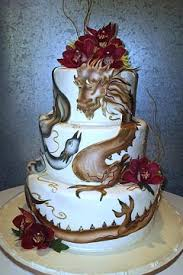 modern chinese wedding cake designs