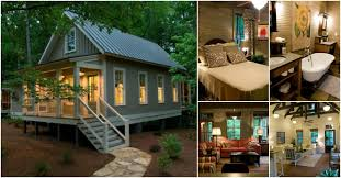 camp callaway cottage is 1091 sq ft pure cozyness tiny house