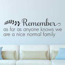 normal family wall quotes decal wallquotes com