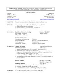 student nurse extern resume sle nurse internship resume objective krida info