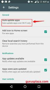how to turn auto update on android how to disable playstore auto apps update on android