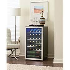 black friday wine fridge amazon com danby 36 bottle freestanding wine cooler appliances