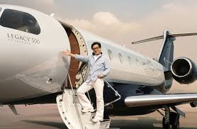 jackie chan takes delivery of first legacy 500 in china business