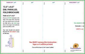4 fold brochure template word 4 sided brochure template brochure template media templates part 2