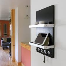 charging station shelf charging station for him black modern wall mount ipad