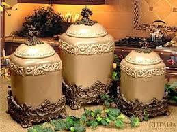 kitchen ceramic canister sets kitchen canister sets black s s collecti black ceramic canister