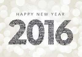happy new year 2017 word cloud on a white background happy new