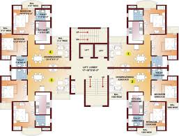 High Rise Apartment Building Floor Plans Parsvnath Pratibha In Sector 4 New Moradabad Moradabad Price