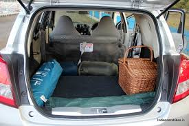 nissan micra luggage space datsun go car review images specs price colors