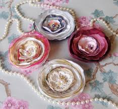 shabby chic corsage on luulla
