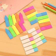 post it sur bureau 3 formes mignon kawaii coloré notes autocollantes bricolage blocs