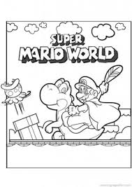 printable super mario bros coloring kids free coloring pages