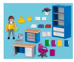 playmobil 4289 the home office amazon co uk toys