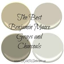 the best paint colours colors benjamin moore gray grey and charcoal