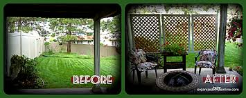 How To Make Patio How To Make An Easy Patio Privacy Screen Step By Step Tutorial