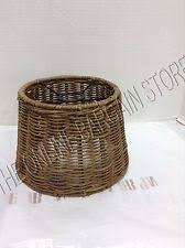 Pottery Barn Wicker Pottery Barn Wicker Lamp Shades Ebay