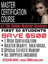 atlanta makeup classes classes for makeup artists at the ahmni makeup academy in south