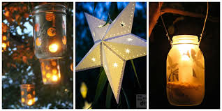 diy lanterns outdoor lanterns