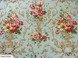Floral Shabby Chic Wallpaper by 611 Best Wallpaper 3 Images On Pinterest French Fabric Vintage