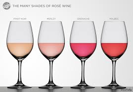 Glass Rose Different Shades Of Rose Wine Wine Folly