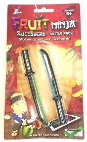 Wholesale Home Decor Merchandise Green Blue Fruit Ninja Sword Nin330009 0 72 Toys Housewares