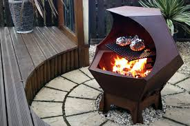 Oriflamme Fire Tables Decahedron Fire Pit Uncrate