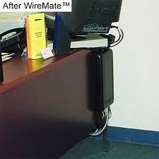 Cable Organizer Desk Wiremate Cord Organizer Wire Mate Cable Organizer