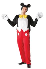 costumes for adults mickey mouse costume