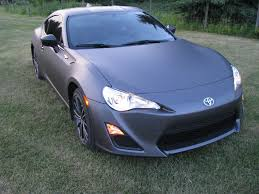 matte wrapped cars vinyl wrapping scion fr s forum subaru brz forum toyota 86