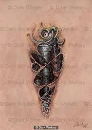 best 25 biomechanical tattoo design ideas on pinterest