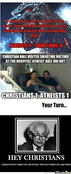 Atheist Vs Christian Meme - meme center kumo omoi likes page 106