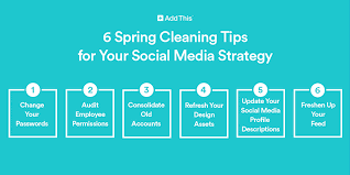 spring cleaning tips 6 spring cleaning tips for your social media strategy addthis