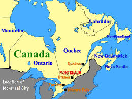 map canada east coast u s a and canada east coast travel part iv montreal and