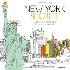 New York secret  Carnet de coloriage Amazonfr Livres